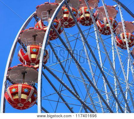 Ferris Wheel In Lucerne, Switzerland