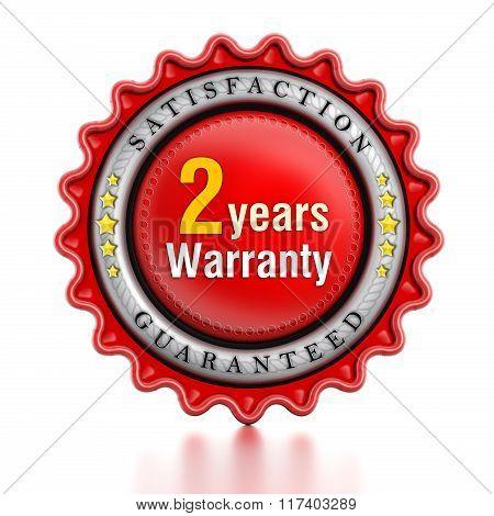 2 Year Warranty Stamp