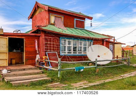 Wooden House, Central Mongolia