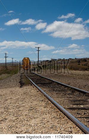 Historic Railway And Train