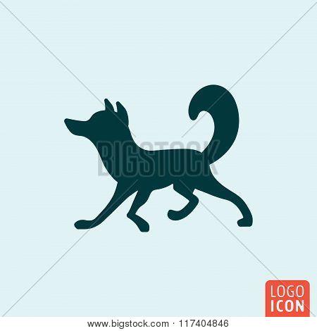 Fox icon design