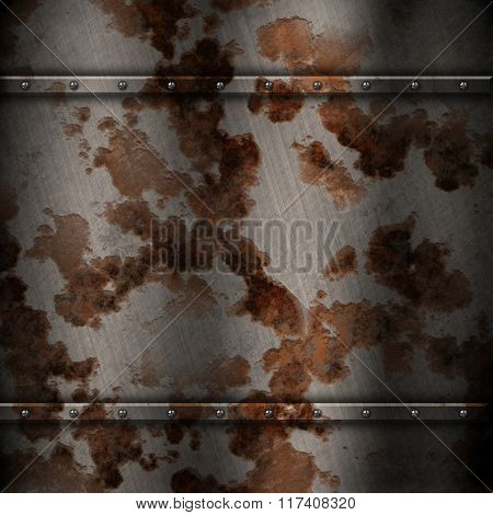Abstract background with rusty metal texture