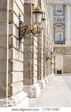 Corridor, Madrid, Spain
