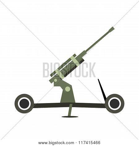 artillery flat icon