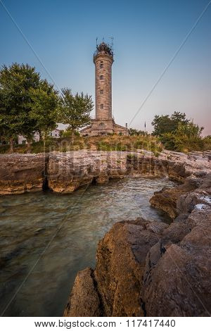 Lighthouse In Savudrija, Istria, Croatia
