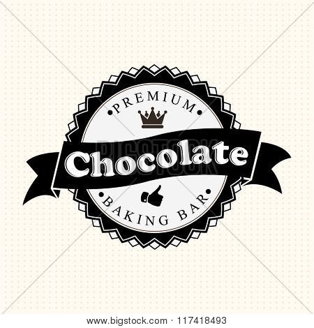 Vintage Chocolate Label