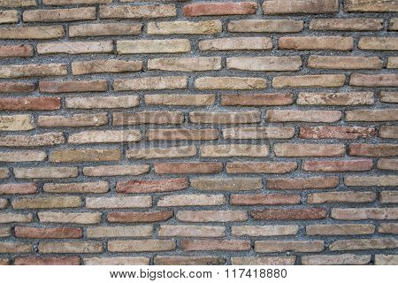 Old brick wall. Close up picture.