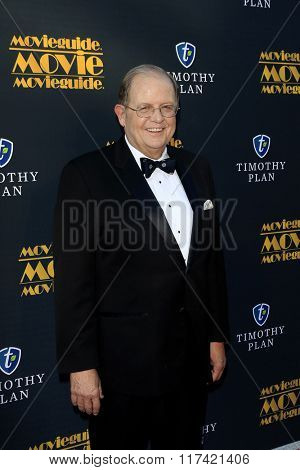 LOS ANGELES - FEB 5: Dr Ted Baehr at the 24th Annual MovieGuide Awards at Universal Hilton Hotel on February 5, 2016 in Universal City, Los Angeles, California