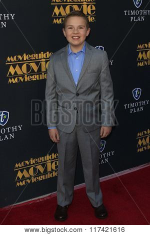 LOS ANGELES - FEB 5: Jet Jurgensmeyer at the 24th Annual MovieGuide Awards at Universal Hilton Hotel on February 5, 2016 in Universal City, Los Angeles, California
