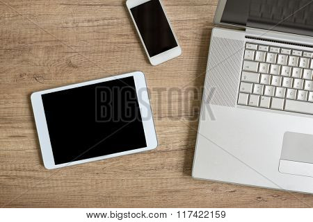 design and web devices background