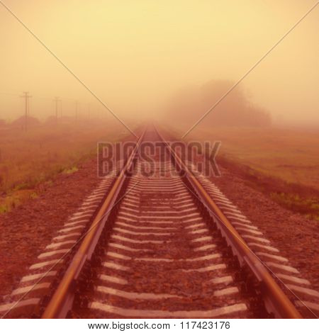 Railway In The Mist