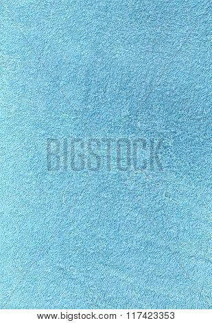 Light Blue Cotton Towel Texture.