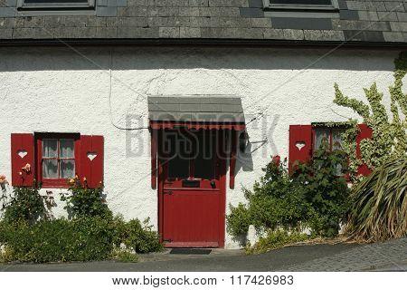 Colorful home Kinsale, Ireland