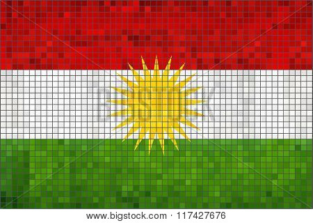 Flag Of Kurdistan.eps