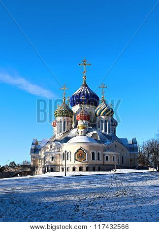 Church Of The Savior Transfiguration Metochion Patriarch Of Moscow And All Russia
