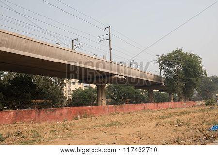 Flyover For Railway