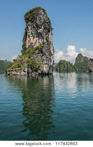 Islet on Ha Long Bay