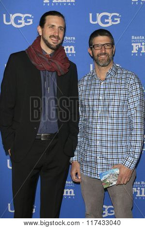SANTA BARBARA - FEB 4:  Ben Henretig, Tony Lillios at the 31st Santa Barbara International Film Festival - Maitlin Modern Master Award at the Arlington Theatre on February 4, 2016 in Santa Barbara, CA