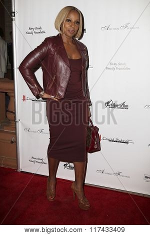 LOS ANGELES - FEB 4:  Mary J. Blige at the Debbie Allen's Freeze Frame U.S. Premiere at the Wallis Annenberg Center for the Performing Arts on February 4, 2016 in Beverly Hills, CA