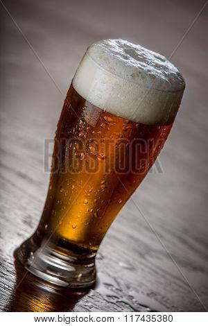 Pint Of Honey Brown Beer