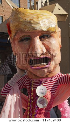 Big Mouth Donald Trump Costume