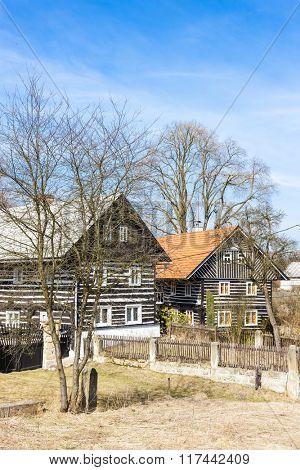 cottages in Kokorin Region, Dobren, Czech Republic