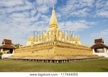 Buddhist stupa of Vientiane, Laos