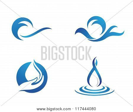 water droplet element
