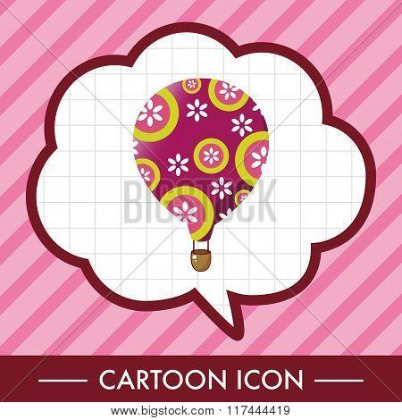 Style Hot Air Ballon Theme Elements Vector,eps
