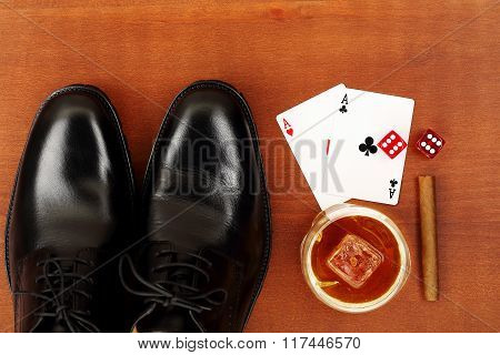 Shoes And Aces