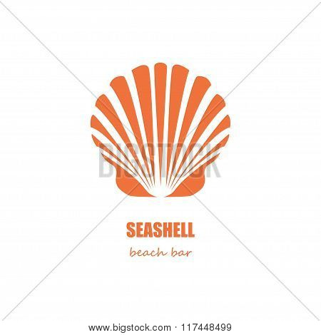Seashell Beach Bar Company Logo