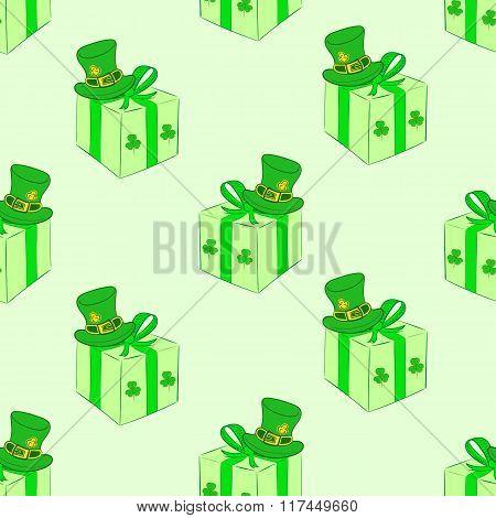 Seamless gifts of Saint Patrick