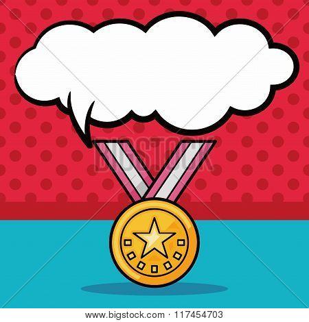 Medal Doodle