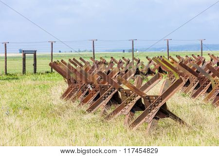 remains of iron curtain, Satov, Czech Republic
