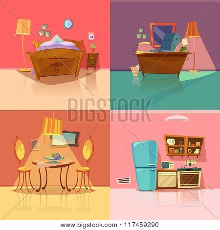Interior Retro Set