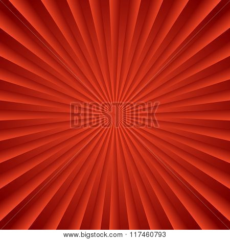 Colorful Starburst, Sunburst Background. Radiating, Converging Lines. Glowing Pattern, Backdrop.