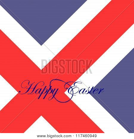 The Festive Card Happy Easter For Iceland.