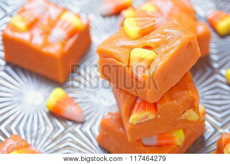 Delicious butterfinger fudge