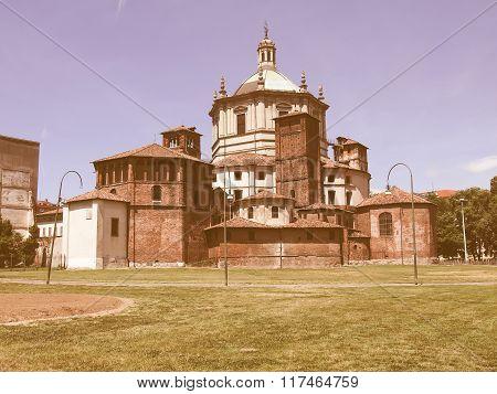San Lorenzo Church, Milan Vintage