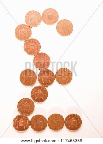 Pound Sign Vintage