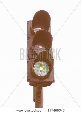 Traffic Light Semaphore Vintage