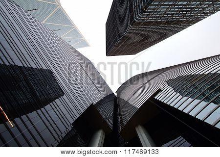 Citibank,  ICBC Towers and Bank of China.