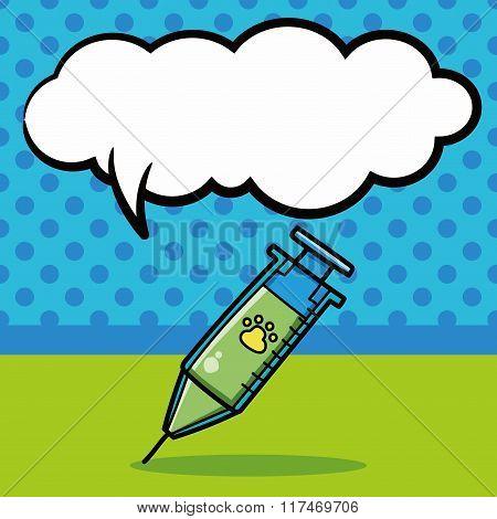 Syringes Doodle