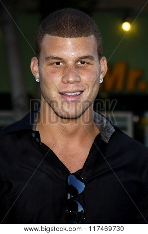 Blake Griffin at the Los Angeles Premiere of