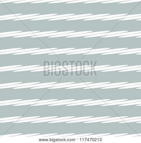 Grayscale Minimal Pattern With White Oval Shapes
