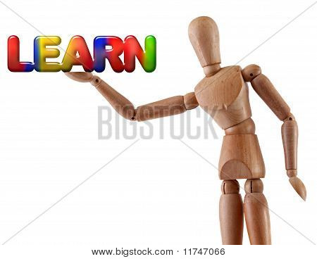 Learn Word Manikin