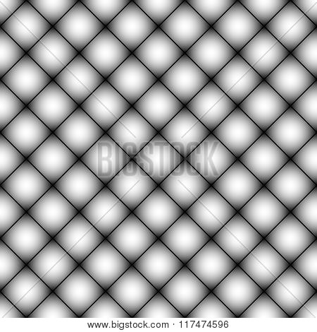 Mesh, Mosaic Of Squares Seamless Geometric Pattern