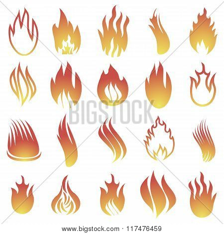 Hot Fire Icons