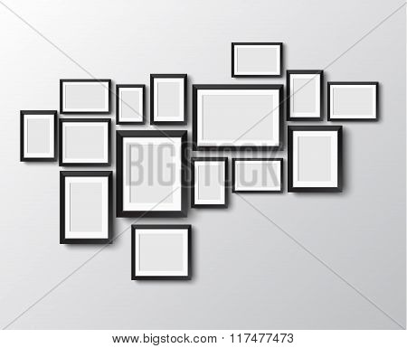 set of picture frames
