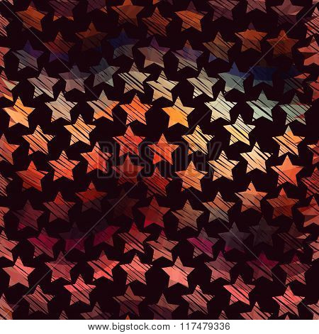 Beautiful celebration background with romantic colors.Aurora stars.Flare elements on soft background